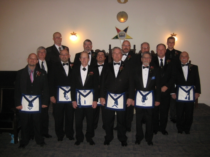 Six Rivers Lodge #106 Officers for 2012